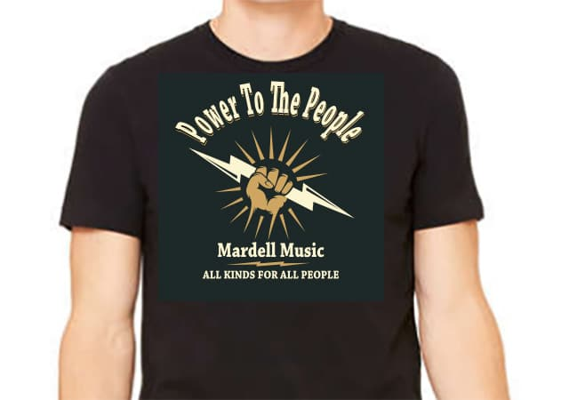 Power To The People Tee-Shirt